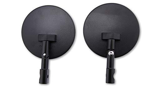 SHIN YO 301-078-100 Spiegel für Lenkerende, rund, schwarz, verstellbar