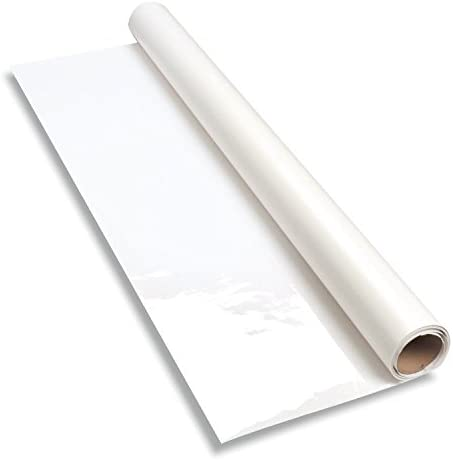 """Everase Dry Erase Whiteboard Resurfacing Material 9 ft. x 61"""" roll - Great for resurfacing Old chalkboards or Stained whiteboards, Easy Erase Permanent Marker, Easy Installation, 30 mins or Less."""