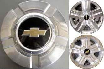 18 Inch OEM Chevy 6 Lug Machined aluminum Center Cap Hubcap Wheel Cover 2007-2014# 9596343 or...