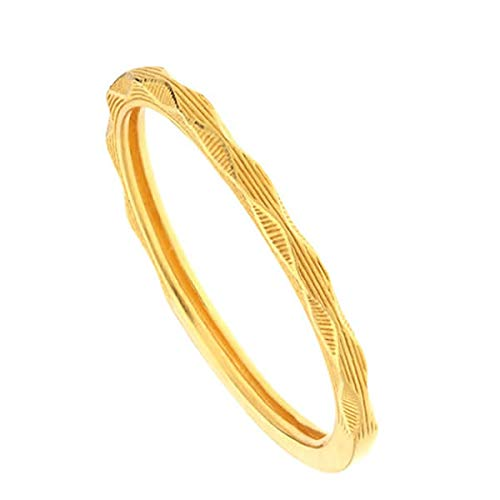 [PRIMAGOLD(プリマゴールド)] 24K ダイヤモンドカットモチーフ リング リング 細身 指輪 24金 純金 K24YGPRIMAGOLD プリマゴールド