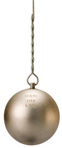NISHI(ニシ・スポーツ) 陸上競技 ハンマー投 ハンマー練習用 6.0kg T5608