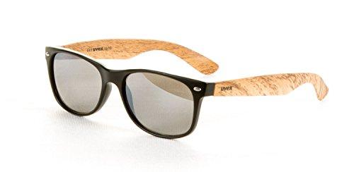 Uvex Sports GmbH & Co.KG 1510 Sonnenbrille Sport Brille Größe ONESIZE black mat wood
