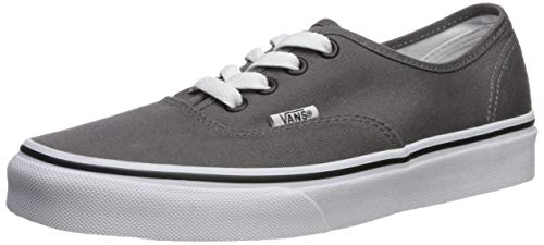 Vans Classic Zapatillas deportivas de skate unisex para niños, color Gris, talla 3 UK