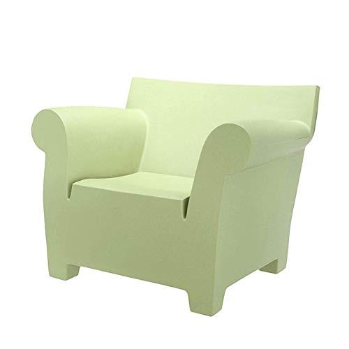 Kartell Bubble Club Sofa, Plastik, Green, 75 x 102 x 78 cm
