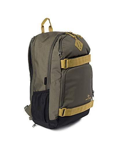 RIP CURL Fader STACKA M,Daypack,Rucksack,Hauptfach mit gepolsterten Laptopfach,kleine Nebenfächer,Military Green