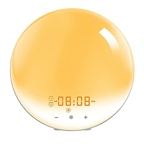 ¡El Reloj del Atardecer, Una Nueva Generación De Luces Inteligentes, Apaga Automáticamente Las Luces por La Noche, ¡Despidió La Despedida De Las Aguas Oscuras!