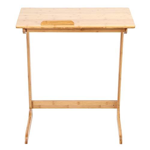 AMONIDA Möbel Couchtisch, Teetisch, Bambus Büro für Wohnzimmer Arbeitszimmer