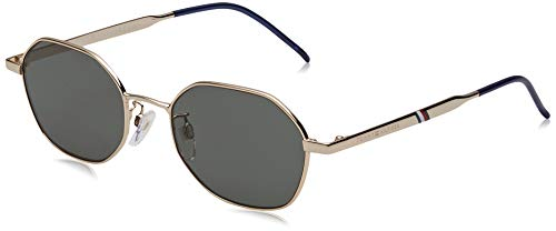 Tommy Hilfiger TH 1677/G/S Sunglasses, Gold, 52 Mens