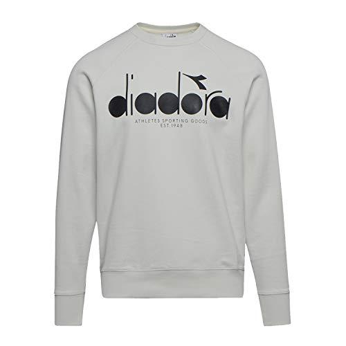Diadora - Vlies Sweatshirt Crew 5PALLE für Mann (EU L)