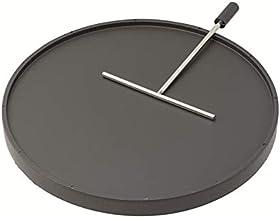 Stöckli 0082.01 F.MARONIOFEN CREPE-/GRILLPLATTE mit TEIGVERTEILUNG Grillen
