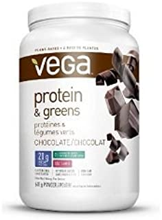 Protein and Greens -Chocolate (614g=21.8oz) Brand: Vega
