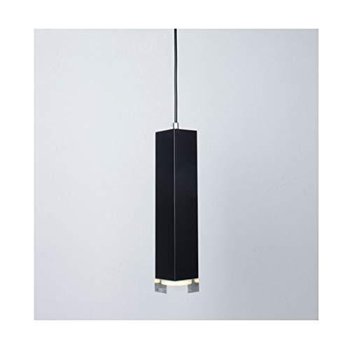 ZXS668 LED Luz de Techo/Araña de Luces Lámpara Colgante Simple Creativa LED Dormitorio Lámpara Larga Tubo Nivel de energía 【A ++】 (Size : 30cm)
