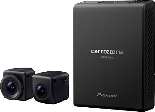 パイオニア 前後2カメラ ドライブレコーダー カロッツェリア VREC-DS800DC 前後200万画素 フルHD 駐車監視 対角148º ナビ連動 連続/衝撃/手動/駐車録画 microSD(32GB) 付