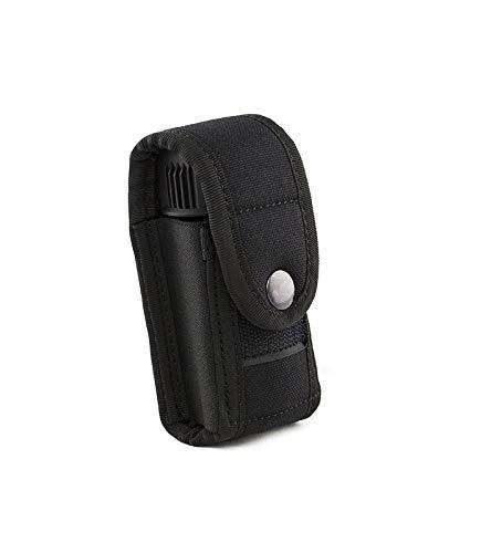 OBRAMO Gürteltasche Holster Zubehörtasche für Pfefferspray 45ml-53ml Dosen, Taschenlampen, Tools, Werkzeugtasche