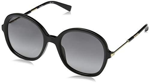 Max Mara Damen Mm Wand Iii Sonnenbrille, Mehrfarbig (Black), 53