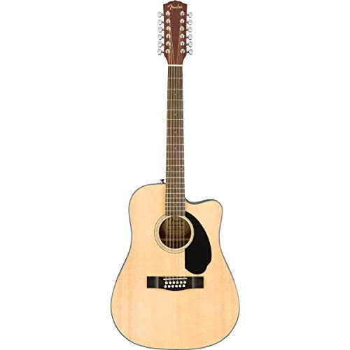 Fender CD-60SCE Dreadnought 12-String Acoustic-Electric Guitar