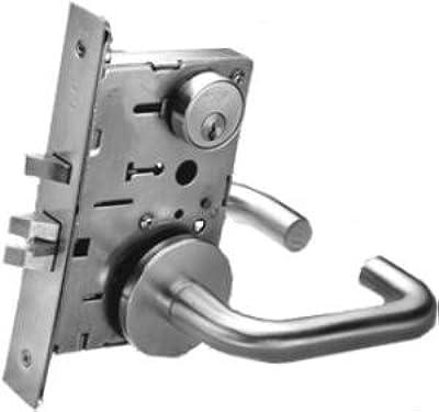 Yale 8807fl Entrance Storeroom Corridor Lock Mortise Lock Lever Trim Door Levers Amazon Com