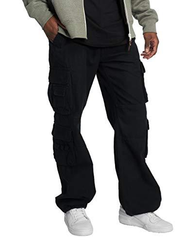 Brandit Pure Vintage Pantalones, Negro,...