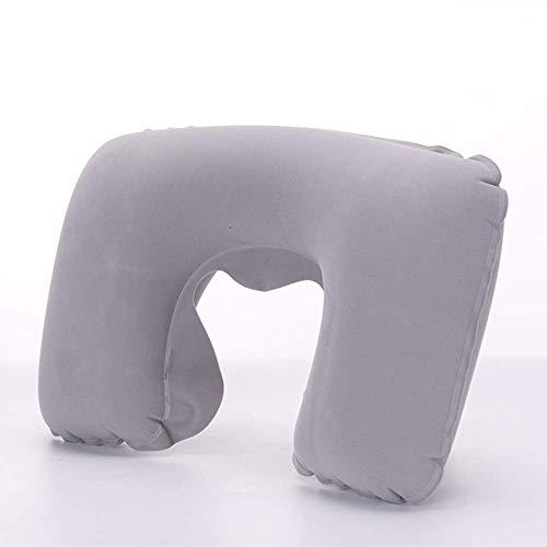 nobranded 1 almohada de viaje en forma de U para aviones, cómoda almohada para dormir para el cuello hinchable, accesorios de viaje