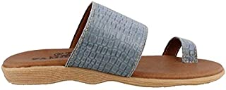 Famolare Women's Band and Deliver Slip on Sandal
