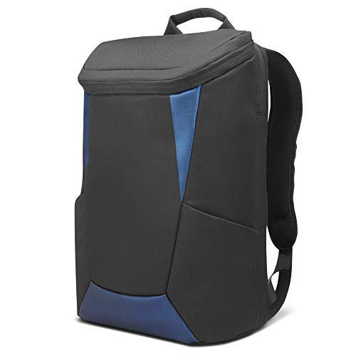 "Mochila IdeaPad Gaming Lenovo até 15.6"" para notebook GX40Z24050, Preto e Azul"