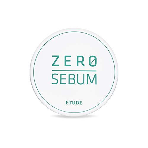 ETUDE HOUSE Zero Sebum Drying Powder - Oil Control No Sebum Powder with 80% Mineral, Makes Skin Downy
