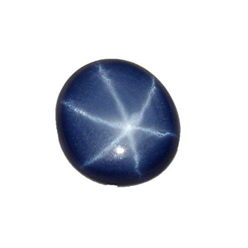 Gemma Zaffiro Stella Blu con Diamanti a Forma di Zaffiro Blu Scuro, 2,65 ct, Bella Stella Blu BP-349