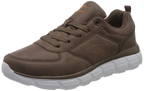 KangaROOS Damen KR-Arla Sneaker, Coffee, 42 M EU