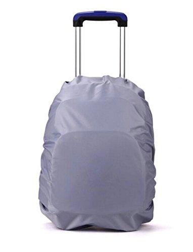 Funda impermeable WeiMay para la lluvia, para viajar al aire libre, senderismo, camping, accesorios para mochila, gris