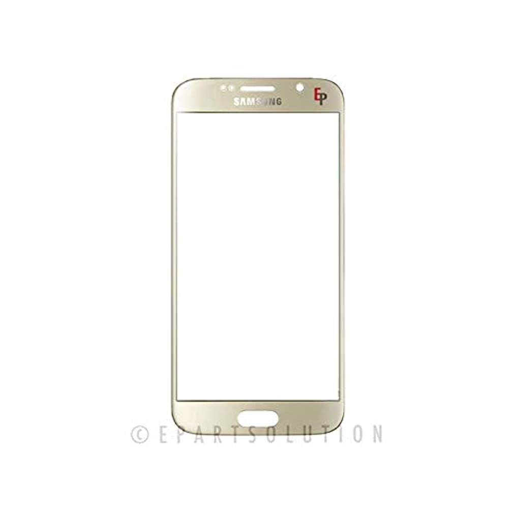 ePartSolution_Replacement Part for Samsung Galaxy S6 G920 G920F G920A G920T G920P Touch Screen Front Glass Outer Lens Cover USA (Gold)