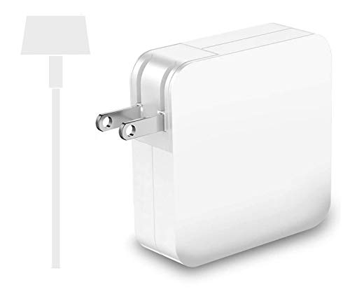 Compatible with Mac Book Charger T-tip 60W Superior Heat Control Power Supply Adapter for MacBook Pro/Air Charger( After Late 2012)