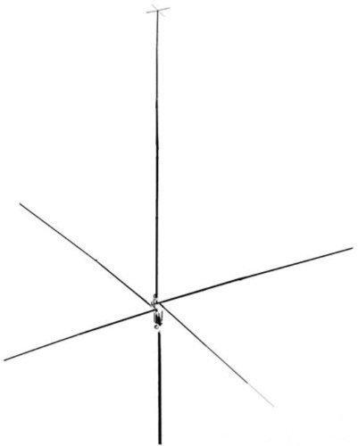 Hy-Gain SPT-500, 24-29 MHz 10/12 Meter Vertical Base Antenna
