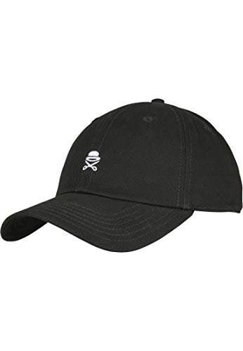 Cayler & Sons Unisex-Adult PA SMALL ICON Curved Black White, Size:ONE Size Cap, blk/wht, Einheitsgröße