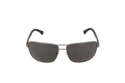 Armani sunglasses for men and women Emporio Armani EA2033 313087 Gunmetal EA2033 Square Pilot Sunglasses Lens Categ,