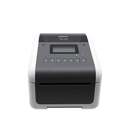 Brother TD4550DNWB 4-inch Thermal Desktop Barcode and Label Printer, for Labels, Barcodes, Receipts and Tags, 300 dpi, 6 IPS, Standard...