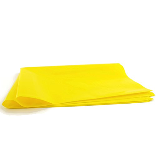 Radioactive Waste Disposal Bags, 4 Mil Thick, 33 x 40 Inches, Yellow Opaque, Unprinted, 25 per Package