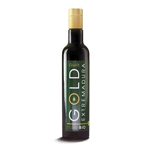 Bio Olivenöl Nativ Extra | Fruchtig pikant | Bio Olivenöl kaltextrahiert direkt vom Erzeuger aus der spanischen Extremadura (500 ML)
