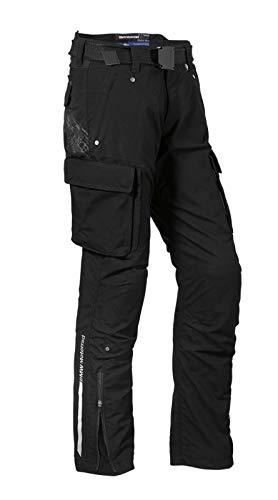 BMW Pantalones de moto Ride para mujer, color negro, talla 36