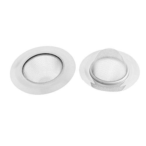 Sourcingmap® 2 STK Badezimmer Metall Netzloch Badewanne Waschbecken Abfluss Sieb 11,5cm Dm de