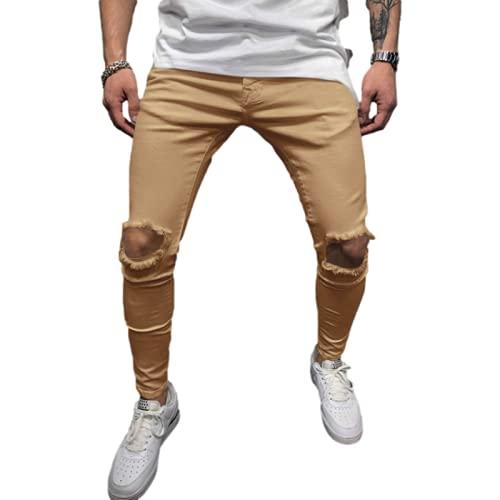 Herren Jeans Trendy Hip-Hop-Stil Mode...