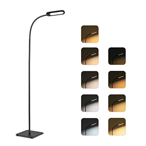 Floor Lamp, TECKIN Reading Lamp, 5 Color Temperatures & 4 Brightness Levels...