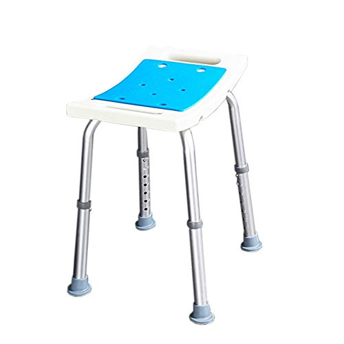 WJY Taburete De Baño, Silla De Baño Antideslizante Altura Ajustable Taburete De Paso Personas Mayores Discapacitados