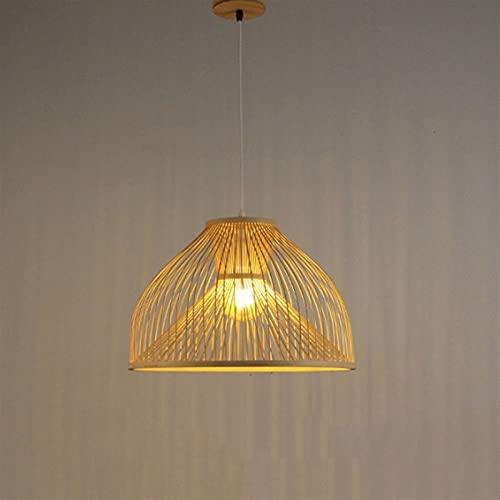 PDDUU Bambú Creó Personalidad Aplicable A: Sala De Estar Corredor Hotel Sala De Té Hotel Moderno Manual Chandelier Bar Light Bamboo Chandelier Linterna