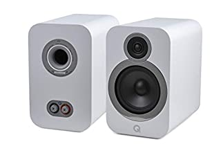 Coppia di altoparlanti da scaffale, colore bianco, principe: Bassreflex a 2 vie Diametro del woofer centrale: 165 mm, diametro del tweeter: 22 mm Gamma di frequenza (+/-3 dB, -6 dB): 46 Hz - 30 kHz, impedenza nominale: 6 Ω. Potenza amplificatore cons...