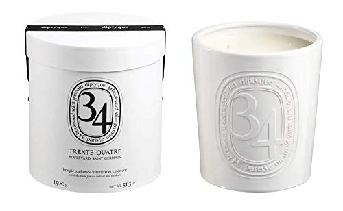 DIPTYQUE 1500GR 34 BOULEVARD CANDLE - Made in France