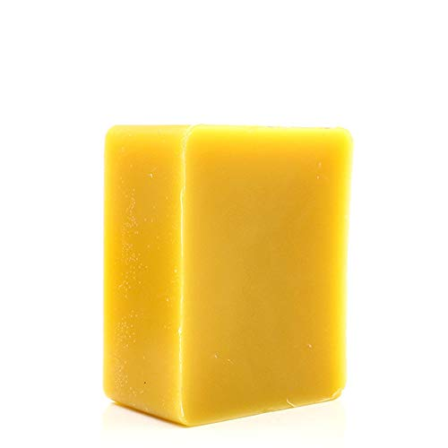 TooGet Cera de Abejas Amarilla Pura Bloque de Cera de Abejas - 100% Natural, Grado Cosmético, Calidad Superior - 400g