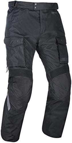 Oxford Continental motorfiets textiel broek zwart L kort