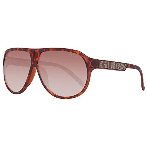 Guess Pilot - Gafas de sol, tortuga/marrón, 64 Unisex Adulto