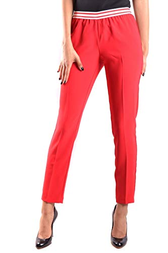 Ermanno Scervino Luxury Fashion Womens Joggers Summer Red