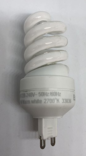 Eglo Sparlampe Energiespar G9 9W 9 Watt 10674 88mm warmweiß 2700k